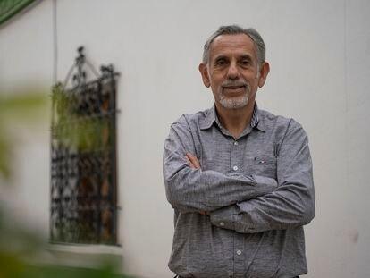 Pedro Francke, asesor económico de Pedro Castillo, retratado el miércoles en Lima.