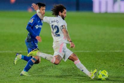 Marcelo dispara ante Kubo.