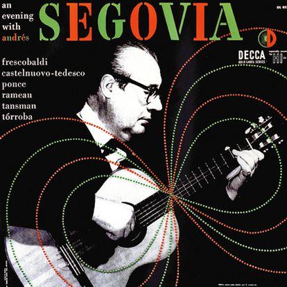 Steinweiss diseñó portadas de música clásica también española, como Andrés Segovia.