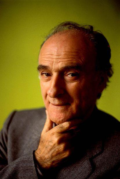 El poeta italiano Andrea Zanzotto.