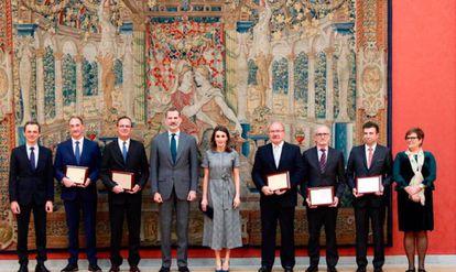 Entrega de los Premios Nacionales de Investigación 2018.