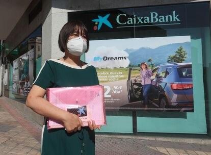 Chen Suixiu, afectada por la cancelación de sus cuentas bancarias.