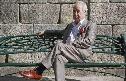 John Banville, este sábado en Segovia.