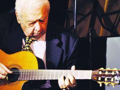 Ubaldo de Lío, guitarrista de tango.