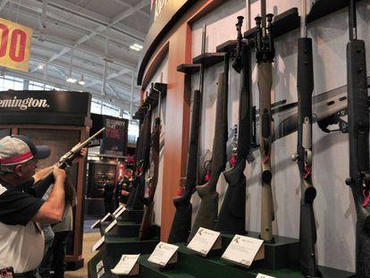 Una feria de armas en Tennessee, Estados Unidos.