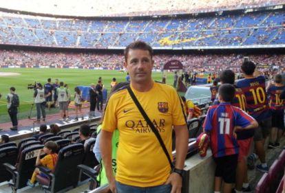 Francisco Gómez aseguraba que era miembro del 'staff' técnico del Fútbol Club Barcelona, donde había trabado una gran amistad con Leo Messi.