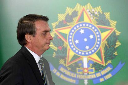 Bolsonaro en la toma de posesión del nuevo ministro de Educación esta semana.