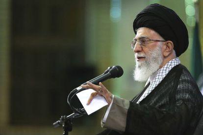 El líder supremo, el ayatolá Alí Jamenei, el 16 de mayo en Teherán.