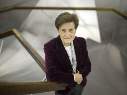 La catedrática de Ética Adela Cortina, retratada en Madrid.