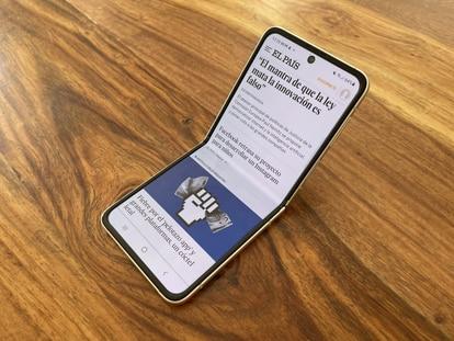 Imagen del Samsung Galaxy Z Flip 3.
