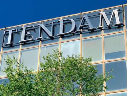 Fachada de la sede de Tendam, antigua Cortefiel.
