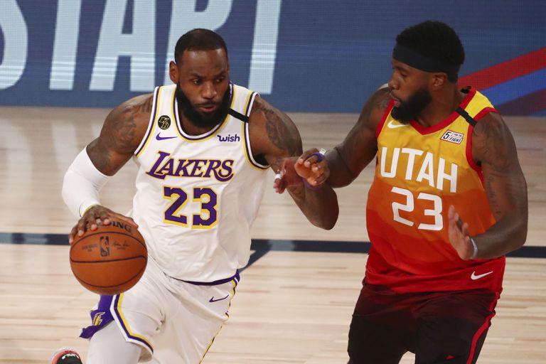 LeBron James intenta superar a O`Neal en el Lakers-Utah.