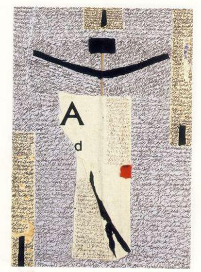 Collage realizado por Adonis en 1993.