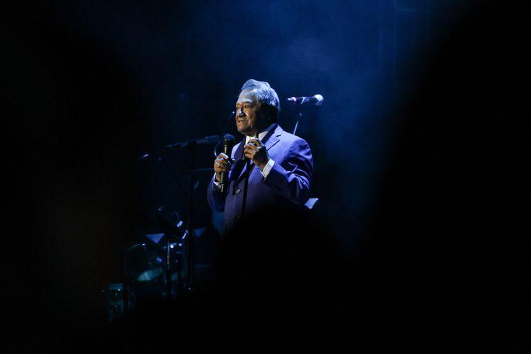 Armando Manzanero durante un concierto en Guanajuato, en octubre de 2015.