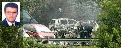 La organización terrorista ha matado con una bomba-lapa a Eduardo Pueyes en un aparcamiento al aire libre cercano a su domicilio en Arrigorriaga.