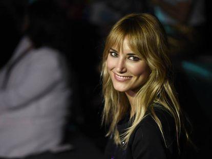 Alba Carrillo el pasado mes de septiembre presenciando un desfile de la Mercedes-Benz Fashion Week Madrid.