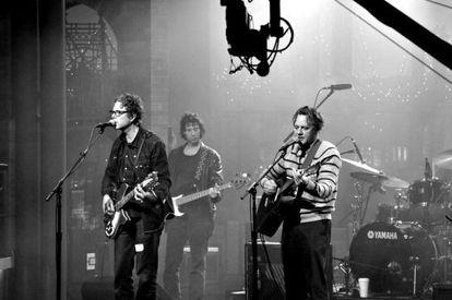 La banda estadounidense The Jayhawks en una foto promocional.