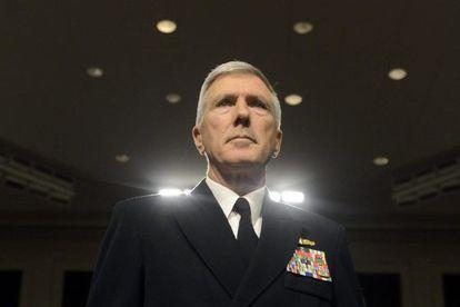 El almirante Samuel Locklear, el más alto mando de la Armada estadounidense en el Pacífico.