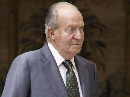 El rey emérito, Juan Carlos I, en una imagen de archivo.