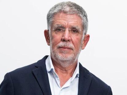 El periodista Alejandro Elortegui.