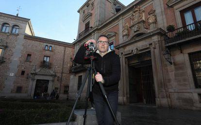 Jesús Calleja, informático y fotógrafo aficionado propietario de la página web de fotografías en 360º de Madrid.