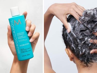 Obtén un cabello liso, brillante e hidratado con este shampoo a base de aceite de argán.