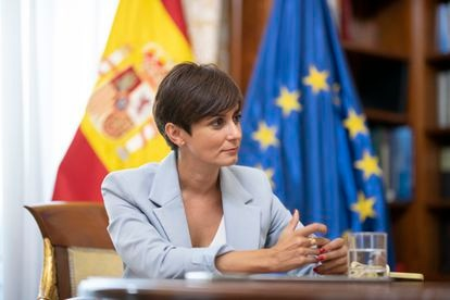 Isabel Rodríguez, el pasado viernes, en su despacho del ministerio.