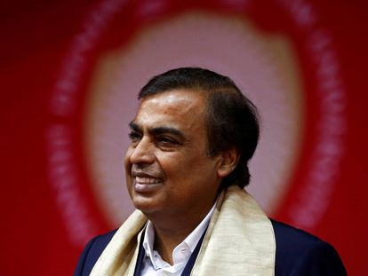 Mukesh Ambani, cuya fortuna está valorada en 37.500 millones de euros.