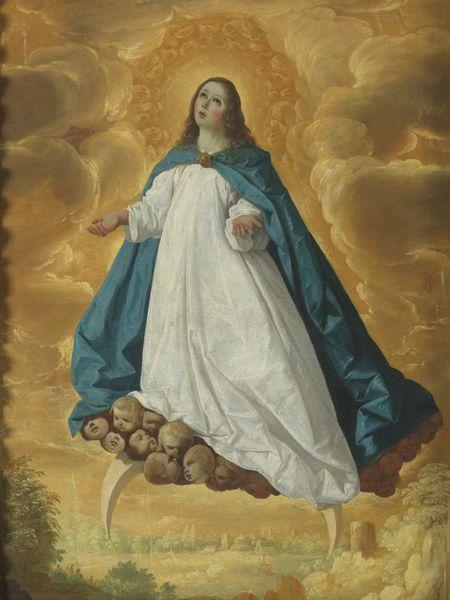 'Inmaculada Concepción' (1625-30), de Francisco de Zurbarán (1598-1664).