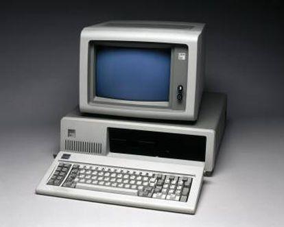 El ordenador personal IBM XC, lanzado en 1983