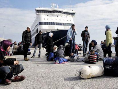 La crisis de los refugiados enfrenta de nuevo a Grecia con Europa