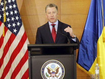 Kurt Volker, el representante especial de EE UU para Ucrania, en julio pasado.