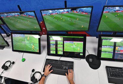 El Mundial de Rusia 2018 fue el primero en incluir el VAR como ayuda para los árbitros.