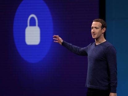 Mark Zuckerberg durante una conferencia en California en mayo.