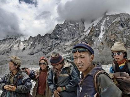 Una de las imágenes de Ángel López Soto que forma parte de la exposición 'Tíbet. Una cultura amenazada'.