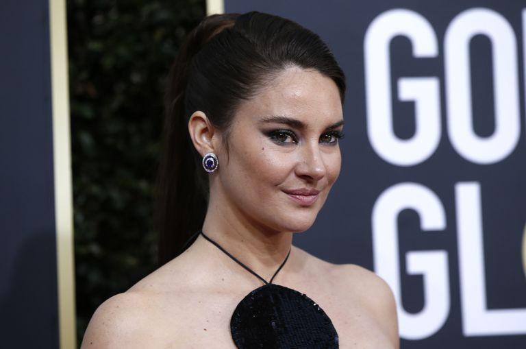 Shailene Woodley, en los Globos de Oro, el 5 de enero de 2020.