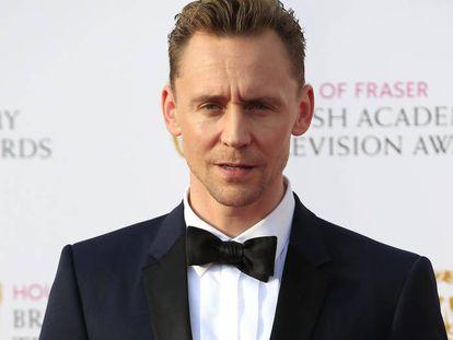 El actor británico Tom Hiddleston.