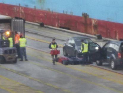 En enero, el grupo de 'Cale' se incautó de 450 kilos de cocaína en el puerto de Barcelona.