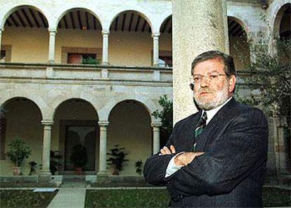 Juan Carlos Rodríguez Ibarra, presidente de la Junta de Extremadura.
