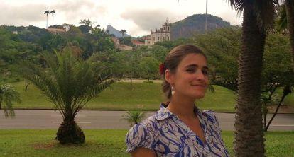 Blanca Lalanda en Brasil.