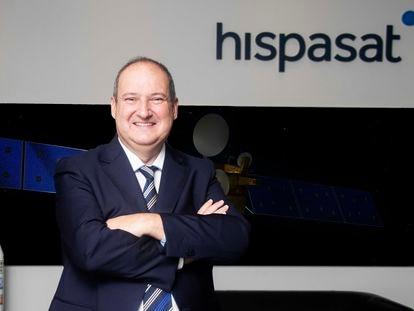 El presidente de Hispasat, Jordi Hereu