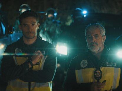 Michel Noher y Carlos Blanco, en una imagen de 'La Unidad'.