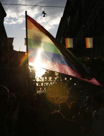 Se espera a un millón de personas en la manifestación del Orgullo Gay en Madrid.