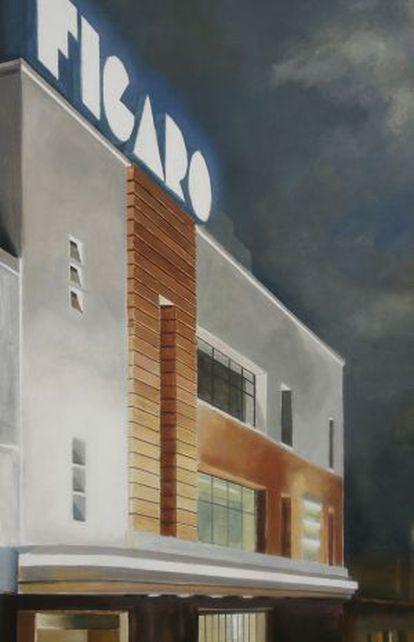 El cine teatro Fígaro, en Doctor Cortezo.