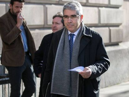 Francesc Homs acude a declarar en el juicio del 9N.