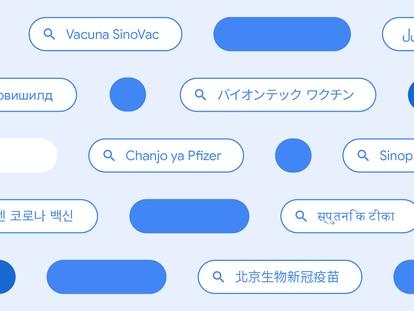 Diferentes formas en las que los usuarios buscan información sobre las vacunas contra la COVID en varios países del mundo.