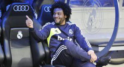 Marcelo, en el banquillo ante el Getafe