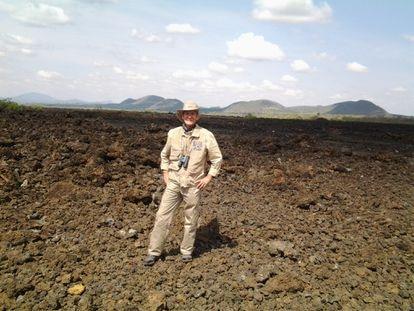 Sergio Rodríguez Elizarrarás, jefe del Departamento de Dinámica Terrestre Superficial del Instituto de Geología de la UNAM.