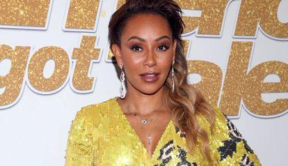 La cantante Mel B en la presentación de 'America's Got Talent', en Hollywood, en septiembre.