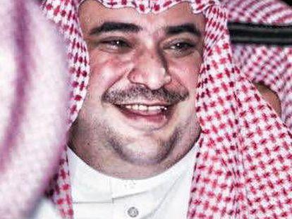 Saud al Qahtani, un influyente asesor del heredero saudí Mohamed Bin Salmán.